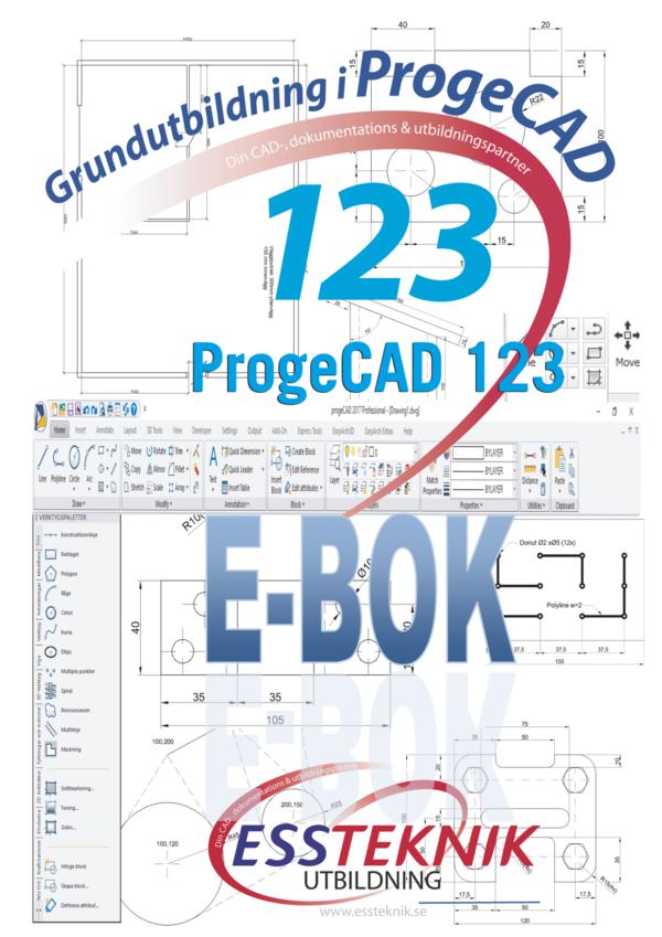 ProgeCAD 45 E-BOK