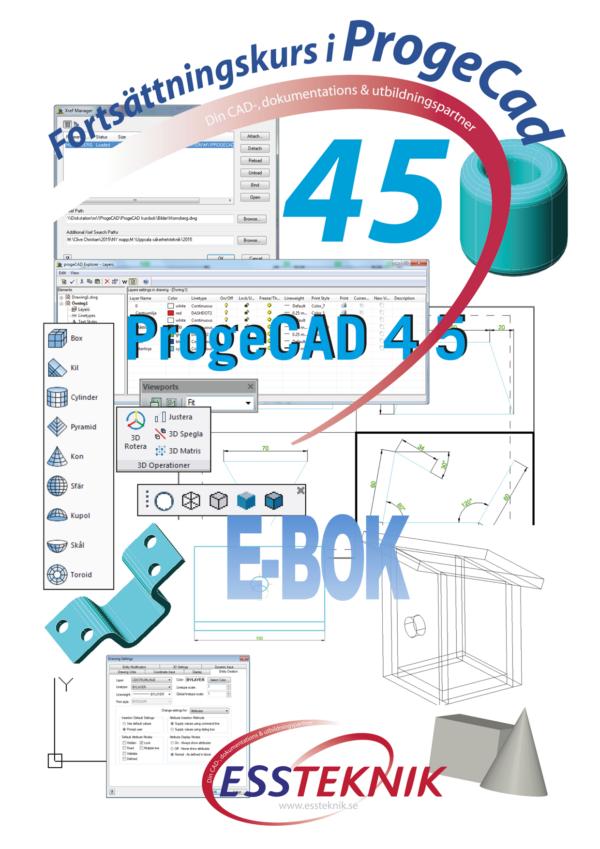 AutoCAD fortsättning som e-bok